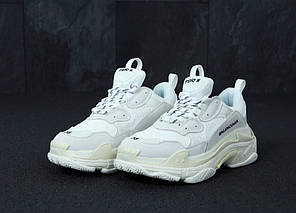 Женские кроссовки в стиле Balenciaga Triple S White (36 - 45 размеры), фото 2