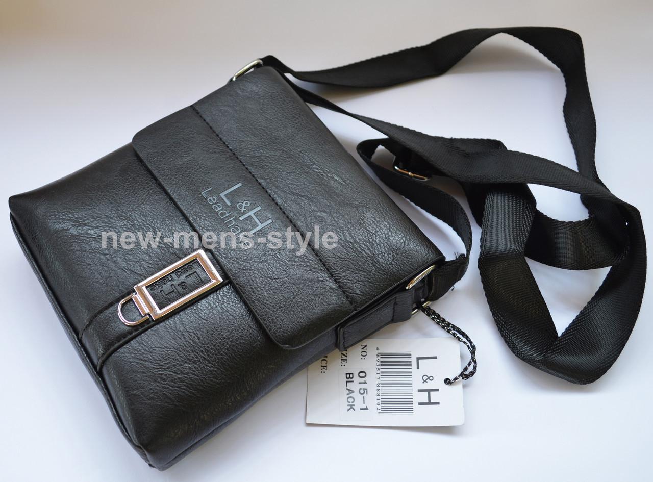 2d1e9e55b9b5 Мужская фирменная чоловіча кожаная сумка барсетка через плечо Polo Jeep  LeadHake, фото 2 ...