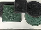 Люк каналізаційний круглий, фото 2