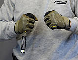 Тактические перчатки Mechanix Contra PRO - coyote (Mex-coyot-XL), фото 2