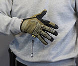 Тактические перчатки Mechanix Contra PRO - coyote (Mex-coyot-XL), фото 7