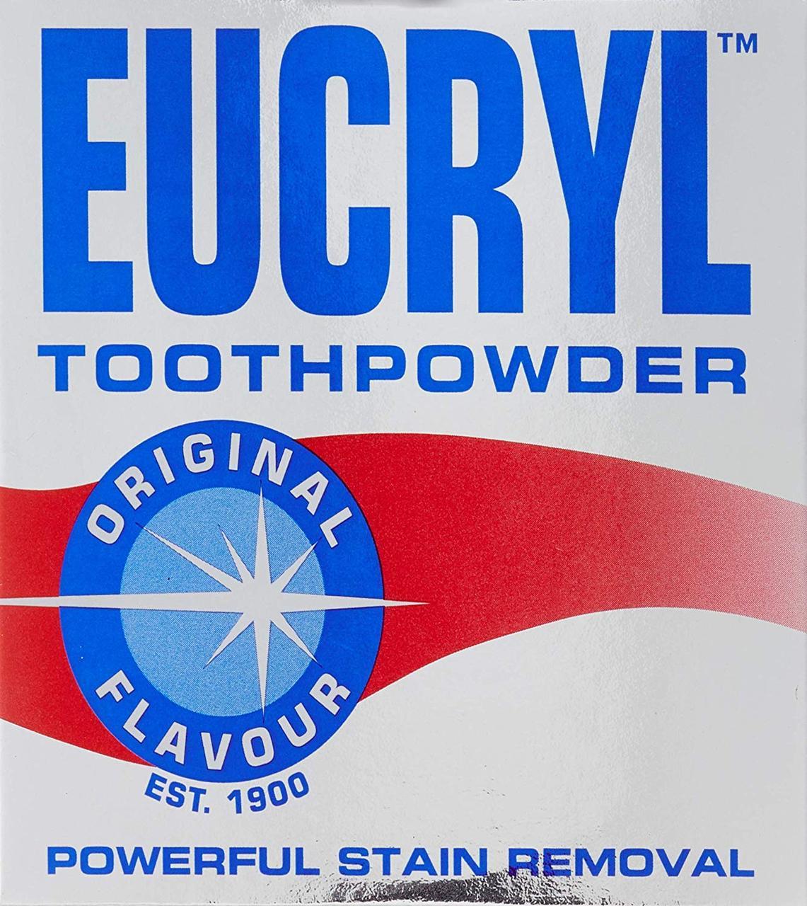 Порошок для зубов  eucryl 50г