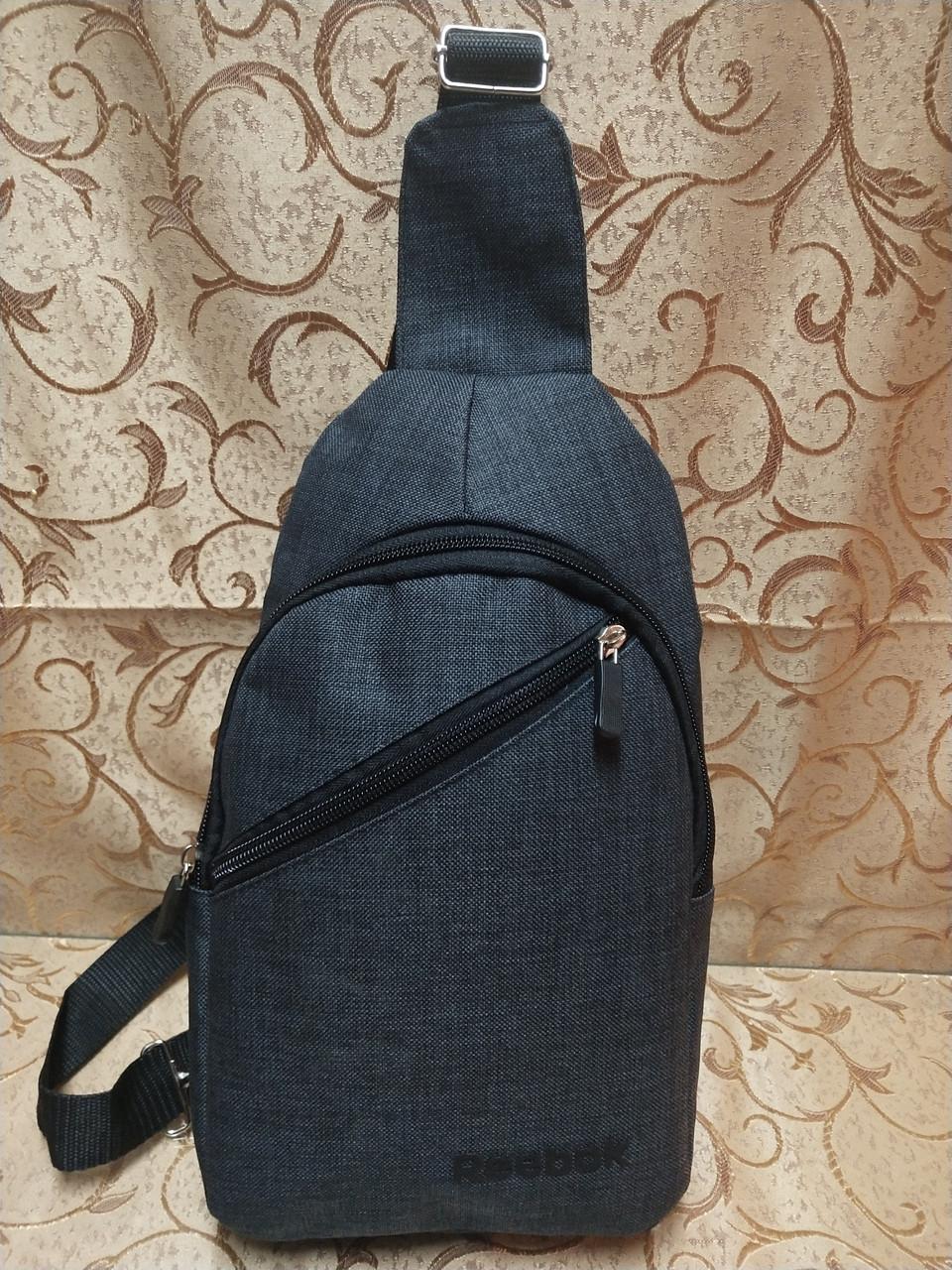 27c857062174 Новинка (Гарантия качества)Барсетка reebok слинг на грудь сумка спортивные  мессенджер 600d для через плечо