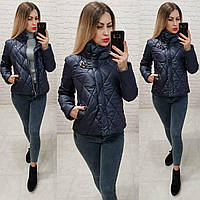 Куртка демисезон, арт. 502, цвет - темно синий