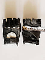 Перчатки детские до 10 лет, кожаные