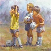 Дитячий футбольний м'яч для тренувань