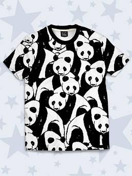 Детская футболка Панды Арт