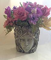 "Кашпо ""Весна"" - декоративная ваза для цветочного горшка, фото 1"
