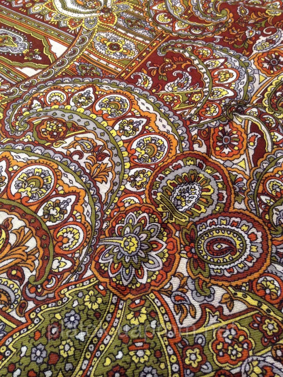 bc4090171583 Садко 598-56, павлопосадский платок шерстяной с шелковой бахромой