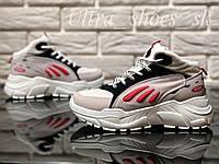 Женские весенние кроссовки на платформе