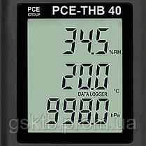 Регистратор давления, температуры и влажности PCE-THB 40 (Германия), фото 3