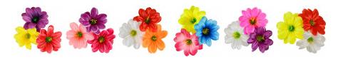 расцветка Букет атласных крокусов Облако,
