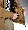 Тактическая куртка Helikon Tex ® COUGAR QSA + HID Soft Shell (оливковая), фото 7