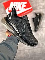 Мужские кроссовки Air Max 720 черные ( ТОП реплика)