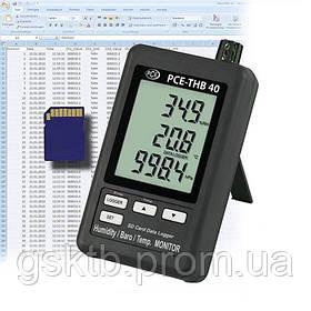 Регистратор давления, температуры и влажности PCE-THB 40 (Германия)