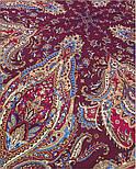 Мечта хрустальная 1683-57, павлопосадский платок шерстяной с шелковой бахромой, фото 4