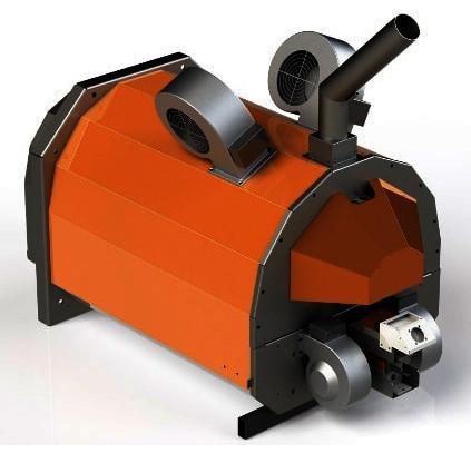 Пеллетная горелка факельного типа Eco-Palnik UNI MAX 300 кВт (Польша)