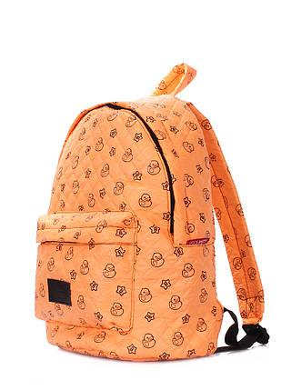 Рюкзак стеганый с уточками POOLPARTY, фото 2