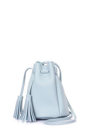 Голубая сумка на завязках, фото 2