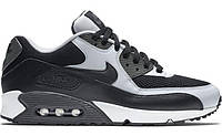 Мужские кроссовки Nike Air Max 90 Essential Black Grey (найк аир макс 90, черные/серые)