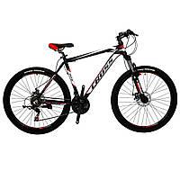 """Алюминиевый горный велосипед 27.5"""" CROSS HUNTER (Shimano, Lockout)"""