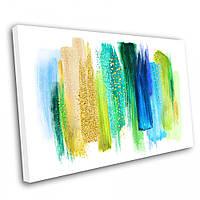 Картина на холсте Kronos Top Абстракция Мазки 4 50 х 70 см (lfp_588324602_5070)