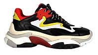 "Кроссовки Ash Addict Sneakers ""Black Red White"" - ""Черные Красные Белые"" (Копия ААА+)"