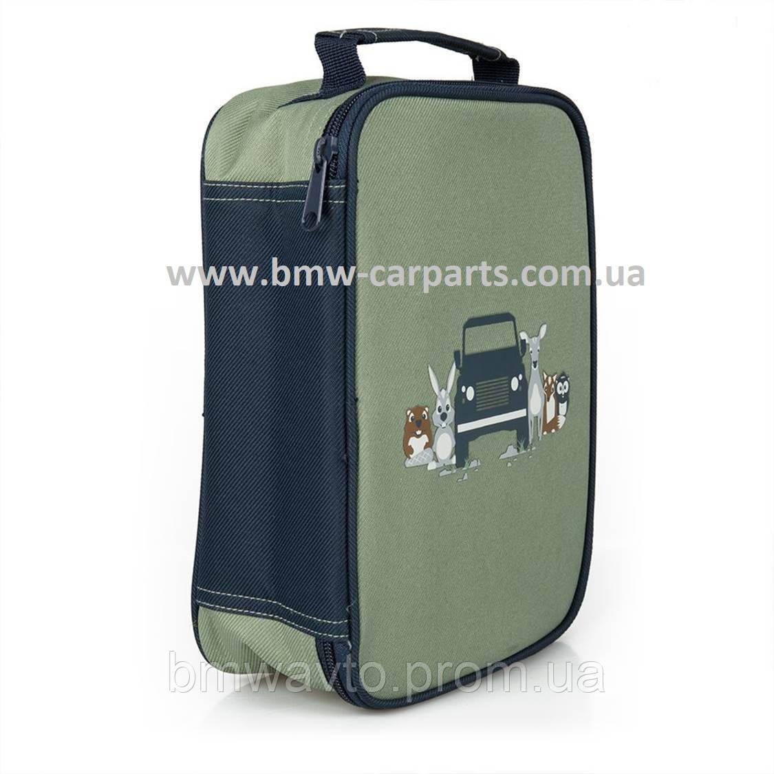 Детская сумка для завтраков - ланчбокс Land Rover Lunch Box, Green/Navy