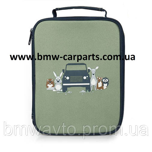 Детская сумка для завтраков - ланчбокс Land Rover Lunch Box, Green/Navy, фото 2