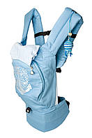Эргономичный рюкзак-переноска 'Якорь' с сеточкой для проветривания спинки