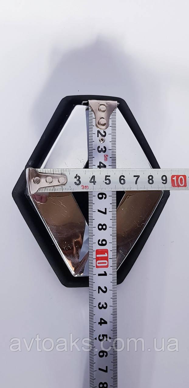 Эмблема Renault 110х90мм. Clio3 / Modus