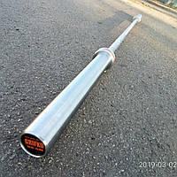 Олимпийский гриф для кроссфита до 650 кг, 6 подшипников, 28 мм