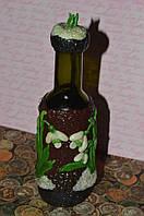 Сувенирная бутылка с подснежниками, фото 1