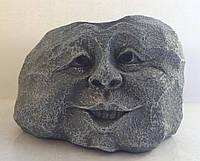 """Кашпо """"Камень-лицо"""" - декоративная ваза для цветочных горшков, фото 1"""