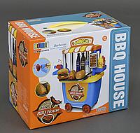 """Игровой набор """"Кафе быстрого питания"""" 8740 СВ , 33 предмета, клаксон"""