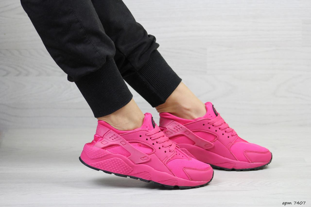 20d9f836 Розовые кроссовки Nike Huarache, женские, сетка (Реплика): продажа ...