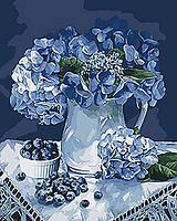 Картина по номерам на холсте Букет для бабушки, KHO3036