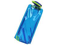 Складна пляшка для рідин  Синій