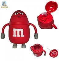 """Бутылка для воды в противоударной оболочке """"M&Ms"""" 250мл"""