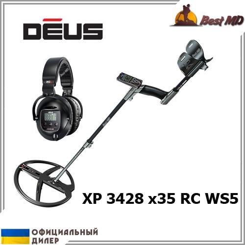Металлоискатель XP Deus 3428 x35 RC WS5