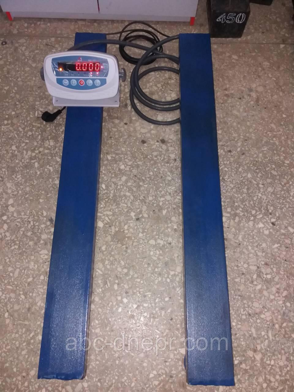 Балкові ваги (стрижневі) 1500 кг