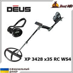 Металлоискатель XP Deus 3428 x35 RC WS4