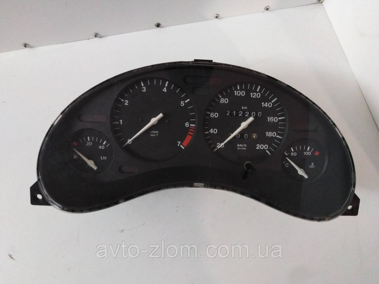 Щиток, панель приборов Opel Combo B, Corsa B, Опель Комбо Б, Корса Б с тахометром. 90386323, 81117761.