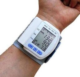 Тонометр автоматичний  UKC,тонометр на зап'ястя , прилад для вимірювання тиску