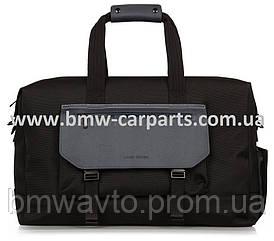 Дорожная сумка Land Rover Weekender Bag, Nylon And Leather, Black
