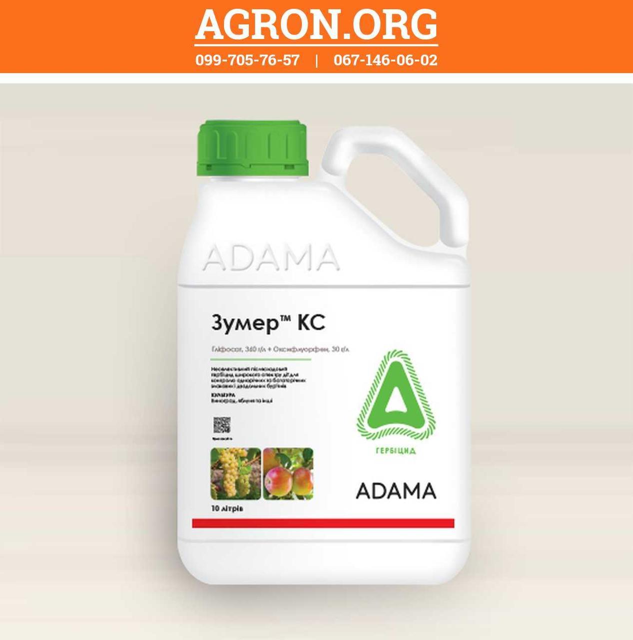 Зумер КС гербицид широкого спектру дії Адама 10 л
