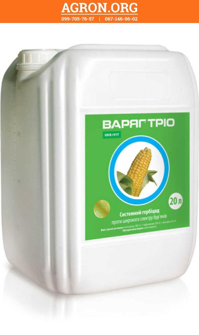 Варяг Тріо гербицид по посівах кукурудзи Укравіт 20 л