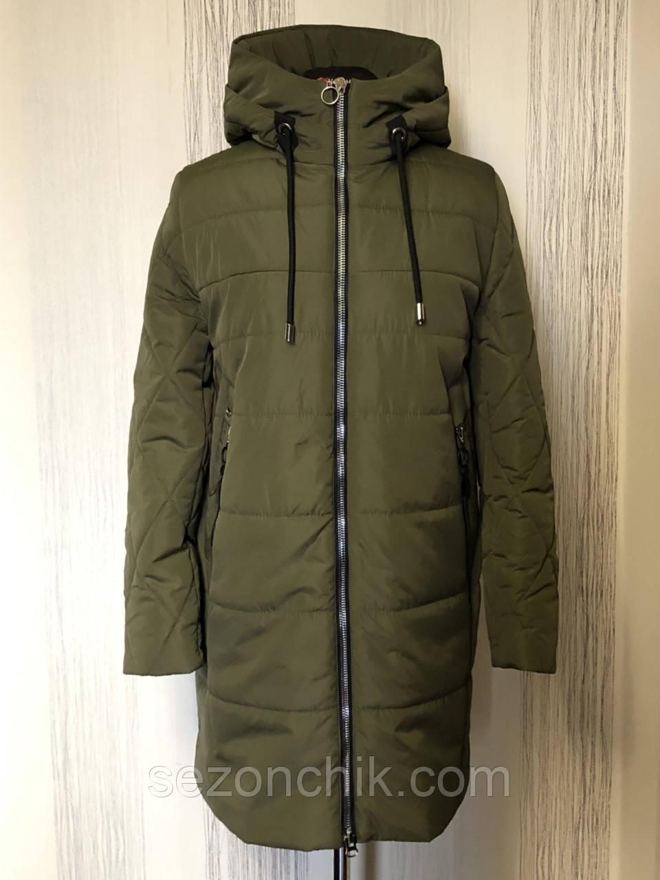 Демисезонная женская куртка пальто модное