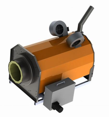 Пеллетная горелка Eco-Palnik UNI MAX PERFECT 750 кВт для промышленного котла (факельный тип, Польша)
