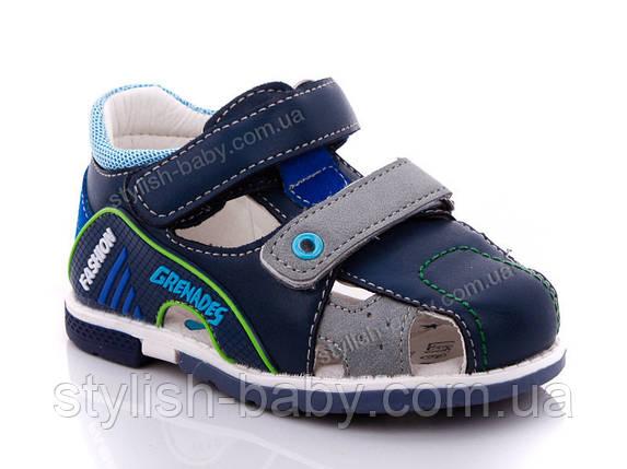 Детская летняя обувь оптом. Детские босоножки бренда Y.TOP для мальчиков (рр. с 22 по 27), фото 2